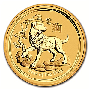 300_300_gold-coin-perth-mint-lunar-dog-2018-quarter-oz-front