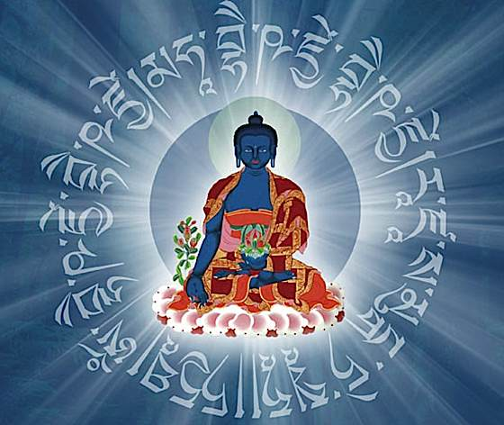 Buddha-Weekly-0Mantra-around-medicine-buddha